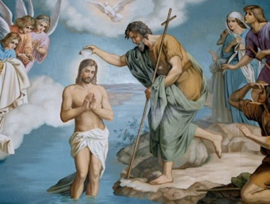 chrzest pański